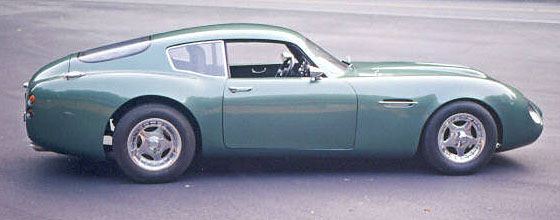 Aston Martin Zagato clone-side view